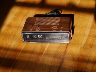 Panasonic Flip Clock Radio Eamaes Danish Howard Vintage