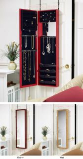 with Full Length Mirror Hangs Over Closet Door or Wall Mounts