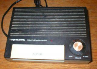 Vintage Realistic Weather Station Alert Emergency Weather Radio 12 157