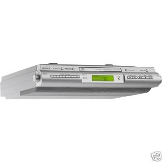 SONY ICFCDK50 Under Cabinet Kitchen CD Clock Radio: ICF CDK50