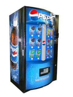 PEPSI SODA WATER CAN BOTTLE VENDING MACHINE VENDO 511
