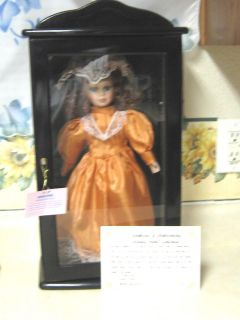 Collectible Ashley Belle Lisa Doll W/ Certificate & Case