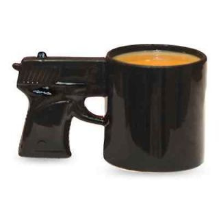 Big Mouth Toys The Gun Mug Coffee Cup Beverage Pistol Mugs Gift NEW