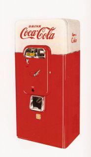 VMC 44 & 88 Coke Machine Restoration Man. Vendorlator