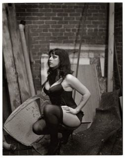 Sexy American Pickers Danielle Colby Cushman B&W Refrigerator / Tool