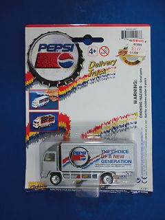 Pepsi Cola Die Cast Metal and Plastic Delivery Truck 1997 Golden Wheel