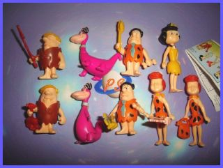 SURPRISE SET   THE FLINTSTONES FIGURES TOYS COLLECTIBLES   OPE 1994