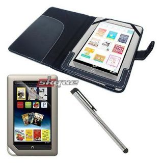 3in1 Accessory For Nook Color Tablet Leather Case Cover Screen