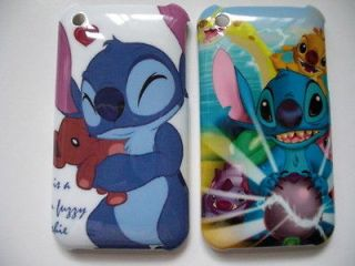 Disney Lilo & Stitch Cover Case for iPhone 3G 3GS 2pcs New Code 2