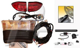 Club Car Precedent Golf Cart Complete Street Legal Headlight and Tail