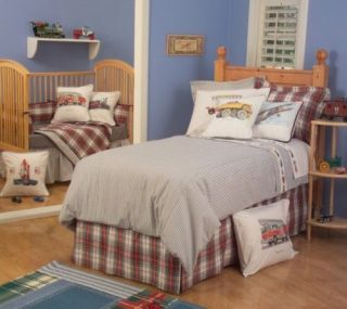 Planes Trains and Trucks Complete Bedding Set