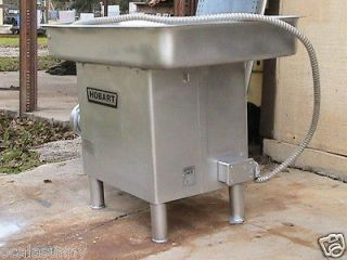 Hobart 4632 Commercial Deli Meat Chopper Grinder On Legs TESTED
