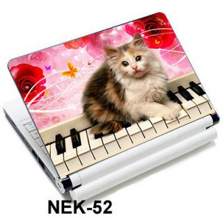 Cat Sticker Skin Cover For 13.3 14 15.4 15.6 HP Dell Sony Acer
