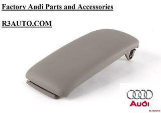 OEM New Center Console Armrest Lid   PLAT. GRAY (Fits 2007 Audi A4