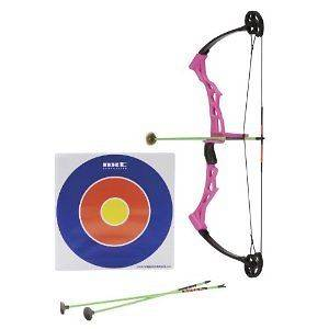 Girl Compound Bow