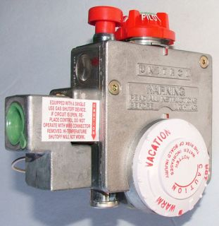 White 265 43708 01 Water Heater LP Gas Valve Thermostat Control