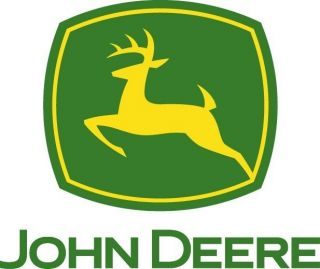 John Deere Green Logo Sticker Die Cut Decal