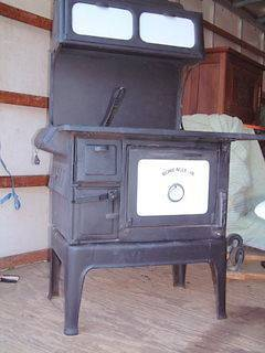 antique wood cook stove in Stoves
