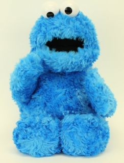 Gund Sesame Street Blue Cookie Monster Plush Teddy Stuffed Lovey Lovie