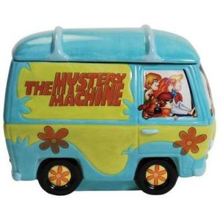 Doo Mystery Machine Ceramic Cookie Jar Hanna Barbera Scooby Snacks