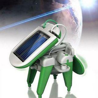 In 1 Educational Solar Power Assemble Boat Fan Car Dog Plane kit