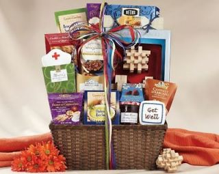 Get Well Soon Gift Basket Candy Earl Gray Tea Cookies Preserves Doctor