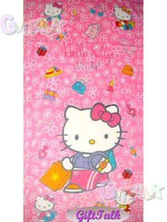 Newly listed NEW Hello Kitty Beach Bath Soft Cotton Towel #A 58 x28