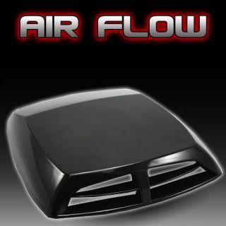 Auto decorative Air Flow Intake Scoop Turbo Bonnet Vent Cover hood