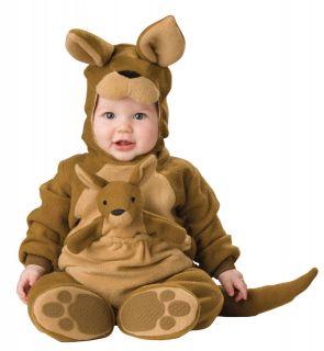 Kangaroo baby infant kids halloween costume 6 12M
