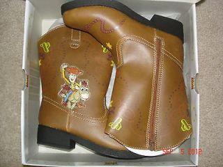 Boys DISNEY/PIXAR TOY STORY Light up Cowboy Boots size 10 (NEW