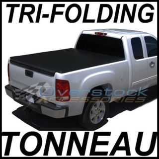 Silverado & GMC Sierra 8ft Long Bed TRI FOLD Tonneau Cover 1988 2007