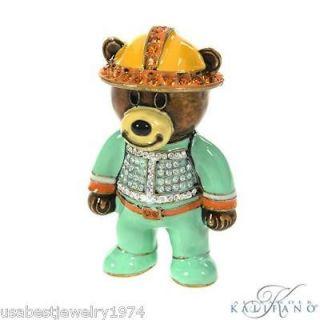 swarovski crystal figurines teddy bear