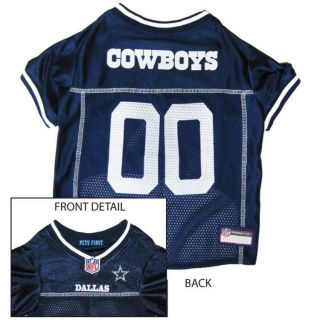 Dallas Cowboys NFL Football Jersey Collar & Leash All 3 one PACKAGE