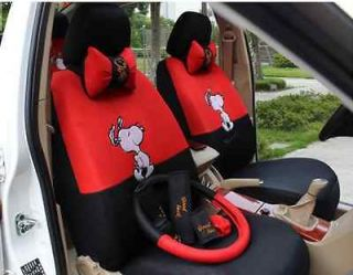 2012 new cute Snoopy seat covers car seat cover