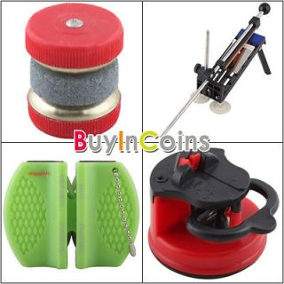 New Scissors Grinder Knife Sharpener Professional Safety Kitchen