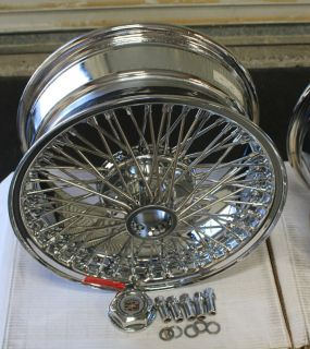 Wheels 16 X 7 5 on 115mm bolt pattern Factory Sealed Wire Wheels