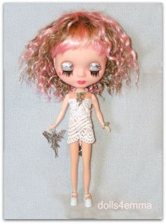 HANDMADE CUSTOM BLYTHE DOLL JEWELRY & DIY PULL RING NECKLACE FAIRY