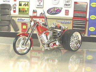 CUSTOM JESSE JAMES WEST COAST CHOPPER EL DIABLO 1:31 SCALE TRIKE 4U