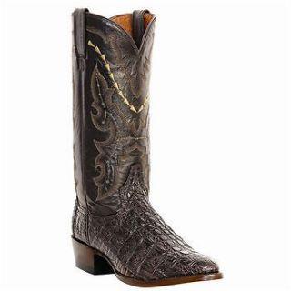 Dan Post DP2386 Mens Brown Birmingham Caiman Alligator Western Boots
