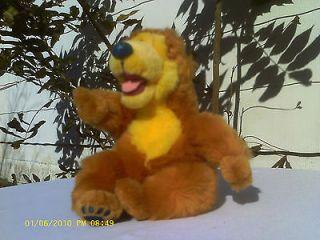 Bear in the Big Blue House   Plush Walt Disney Original   BABY 6 IN