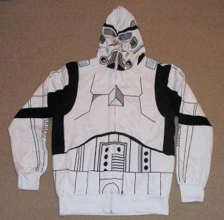 Star Wars Storm Trooper Costume Hoody Medium NEW READ DESCRIPTION