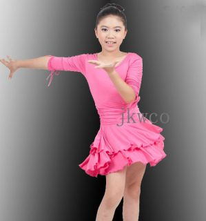 girl latin dance dress in Adult Dancewear