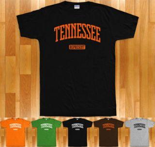 TENNESSEE REPRESENT T shirt   Memphis Nashville Knoxville 615 901 Vols