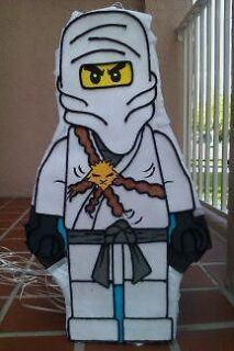 Amazing Lego Ninjago white Pinata party !!!!!