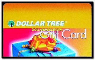 USA 2012 EVERYTHING IS $1 DOLLAR ALL DAY LONG COLLECTIBLE GIFT CARD
