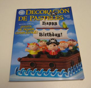 WILTON CAKE DECORATING BOOK 2010 YEARBOOK SPANISH BOOK