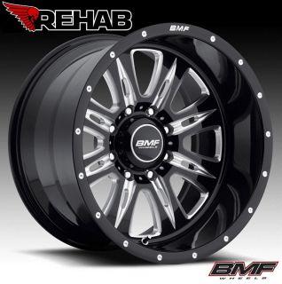 BMF REHAB 20x9 Death Metal Black Wheels 6x5.5   GM/Tacoma/2006