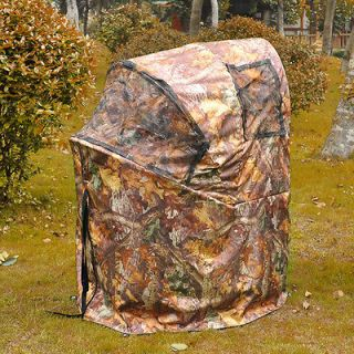 Ground Deer Hunting Blind Woods Camouflage Turkey Hunting Tent 1 Man