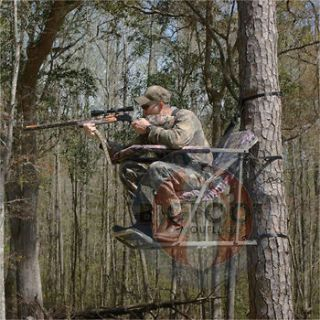 HUNTING HUNT DEER 1 One Man LOUNGE ARCHERY LOCK ON FIXED POSITION