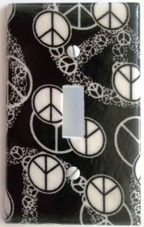 Light Switch Outlet Plate Cover Wall Decor Hippie Bedroom Girls Kids